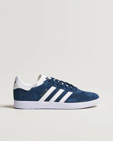 adidas Originals Gazelle Nubuck Sneaker Navy