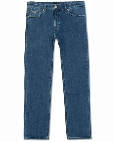 Boss Casual Maine Regular Fit Super Stretch Jeans Lagoon Blue
