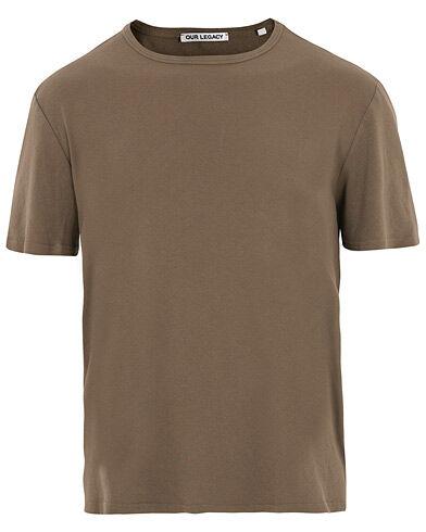 Our Legacy Rib T-shirt Dark Olive