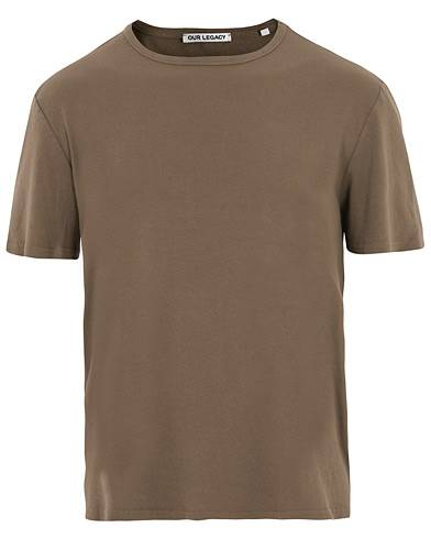 Our Legacy Rib T-shirt Dark Olive