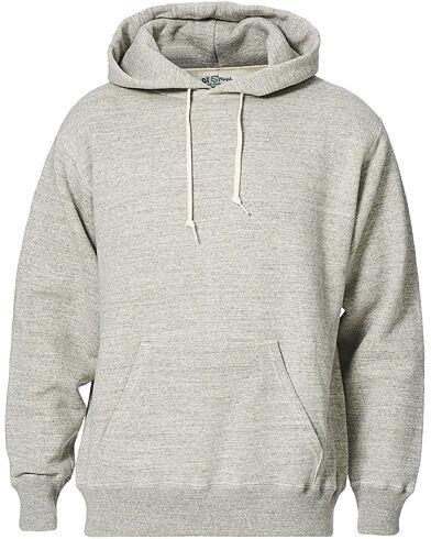 orSlow Loop Wheel Hooded Sweatshirt Heather Grey