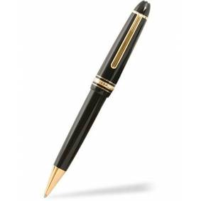 Montblanc 161 Meisterstück Ballpoint LeGrand Pen Black/Yellow Gold