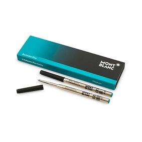Montblanc 2 Ballpoint Pen Refill  Barbados Blue