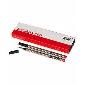 Montblanc 2 Rollerball Refills Modena Red
