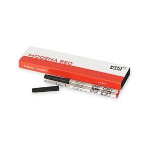Montblanc 2 Ballpoint Pen Refill Modena Red