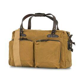 Filson 48-Hours Duffle Bag Dark Tan Canvas