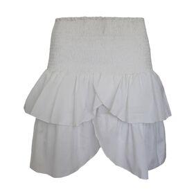 Neo Noir Carin Skirt - WhiteHvit
