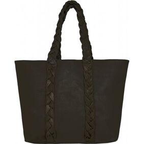 Núnoo Shopper W.Braiding Strap Urban - BlackSvart