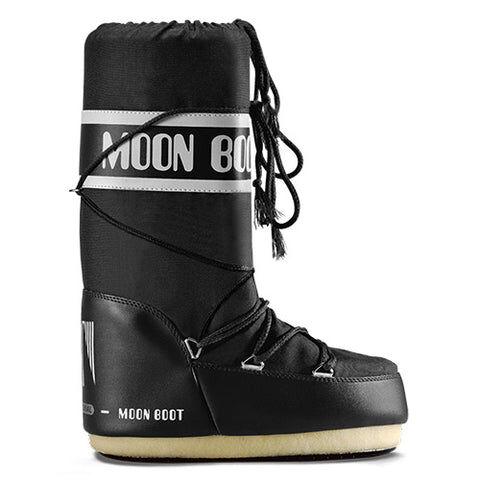 Moon Boot Nylon - BlackSvart