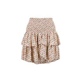 Neo Noir Carin Norrow Flower Skirt - BeigeBeige