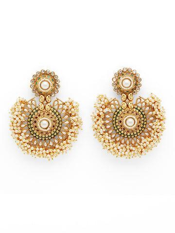 Miss Mathiesen The Large Tanushri Earrings - Pearl