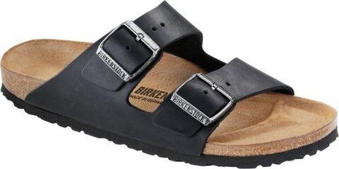 Birkenstock Arizona Oiled Leather Normal - Black