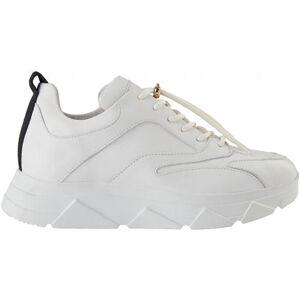 Pavement Portia - White Leather