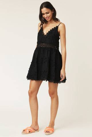 By Malina Issa Mini Dress - Black