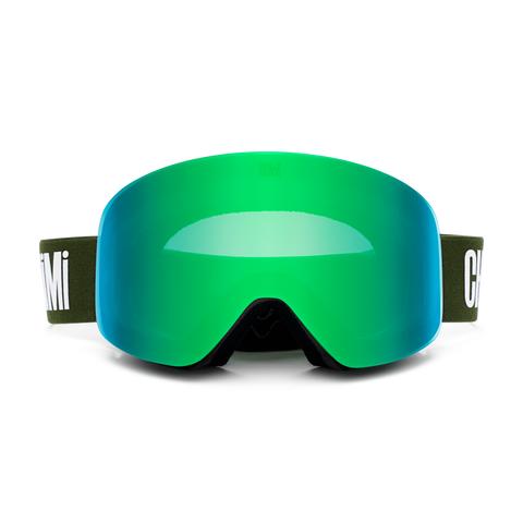 Chimi Eyewear Ski Goggle #1 - KiwiGrønn