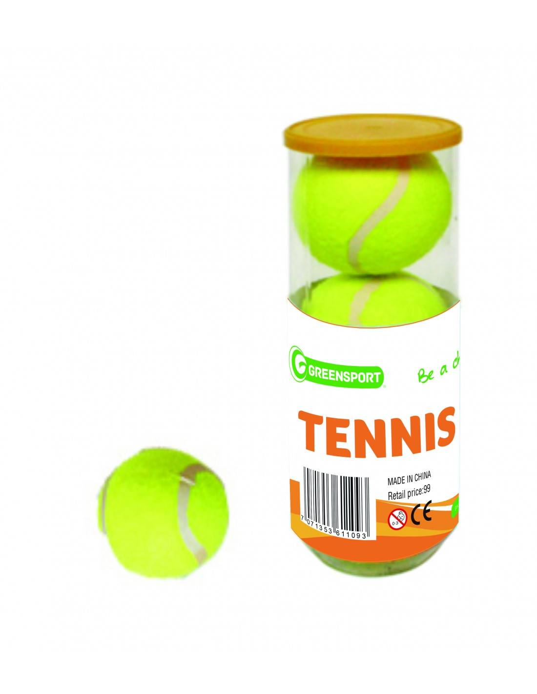 Lmnts Greensport Tennisballer 3 Stk