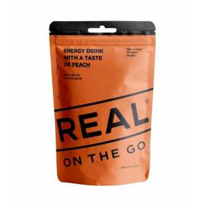 Real Turmat Energy Drink Fersken