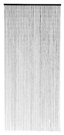 Nordal Gardin Bambu 200x90 cm - Svart