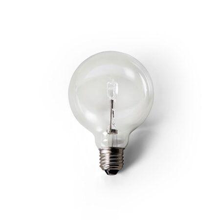 Design House Globe bulb opal 90mm 60W E27 Clear