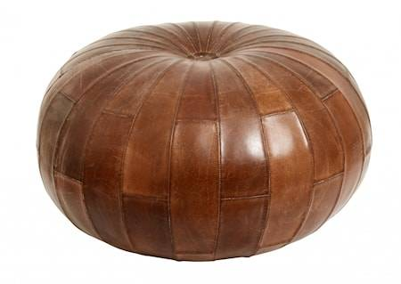 Nordal Puff Leather Round
