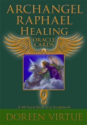 Oracle Archangel Raphael Healing Oracle Cards by Doreen Virtue