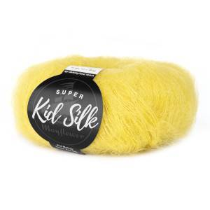 Mayflower Super Kid Silk Garn Unicolor 63 Varm Oliven