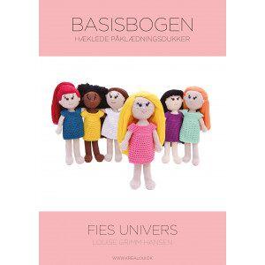 KreaLoui Hæklede påklædningsdukker - Fies univers - Basisbogen - Bok på dansk a