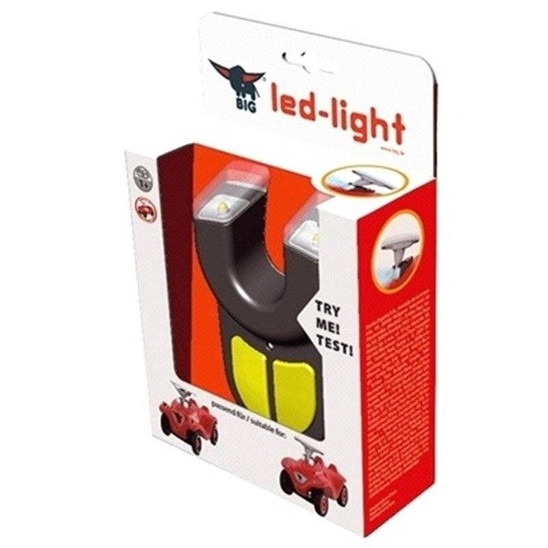 BIG Bobby Car, Led light 12 mnd - 4 år