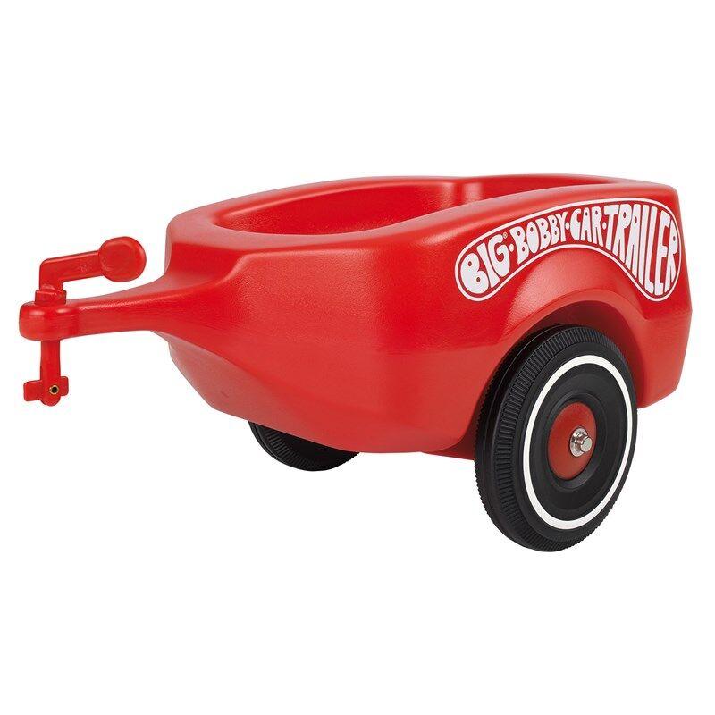 BIG Bobby Car Trailer, rød 12 mnd - 4 år