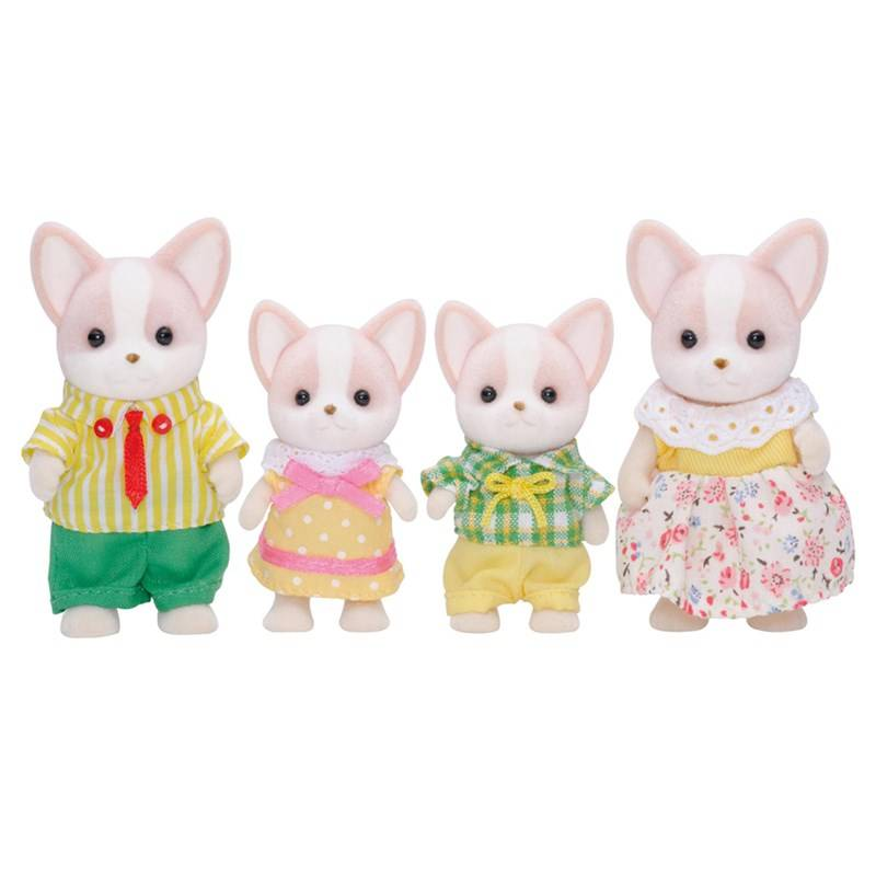 Sylvanian Families Familien Chihuahua Lopez, 4-pack One Size
