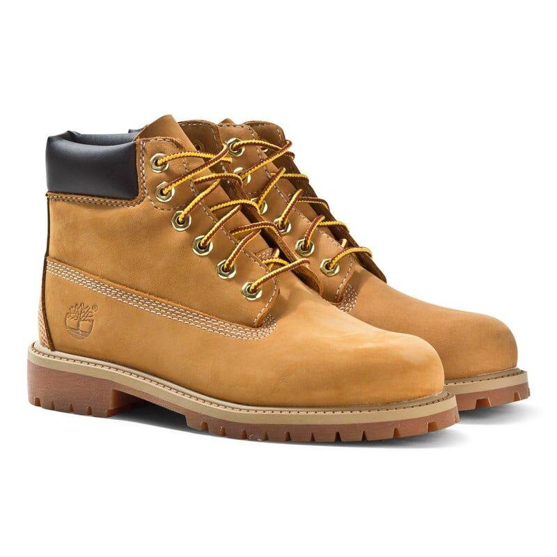 Timberland Støvler, 6in Premium WP, Toddler, Wheat Nubuck 40 EU