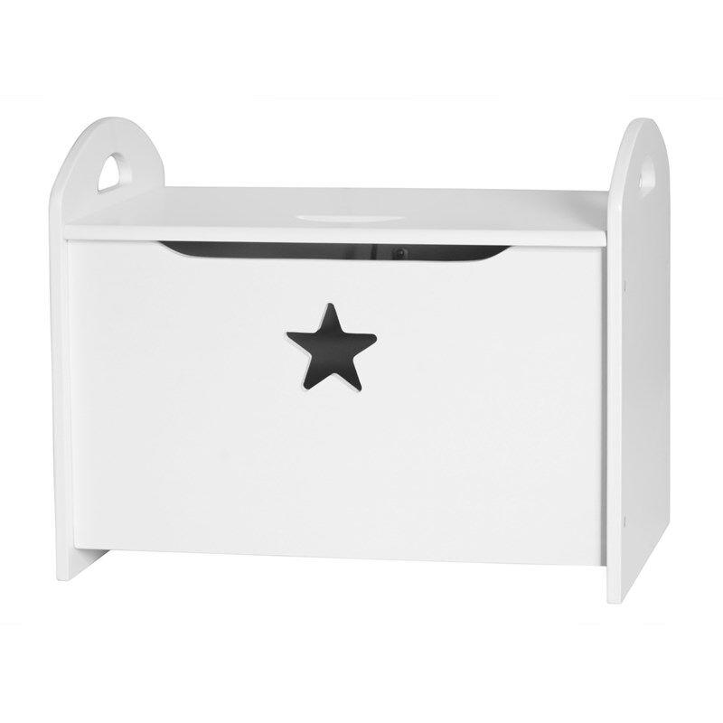 Kids Concept Casket Star White OneSize