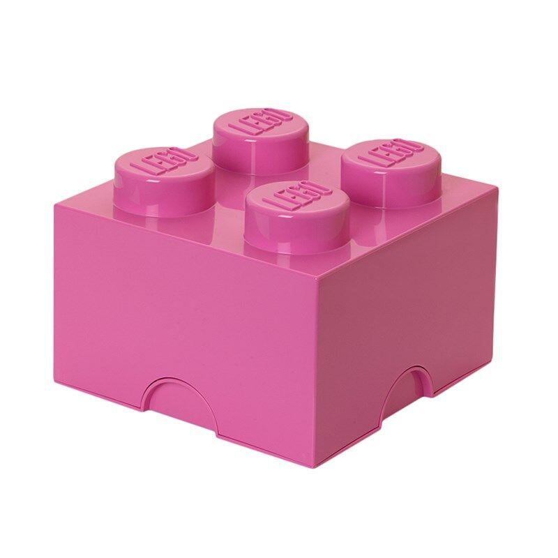 Lego Storage LEGO, Oppbevaring, 4 Rosa One Size