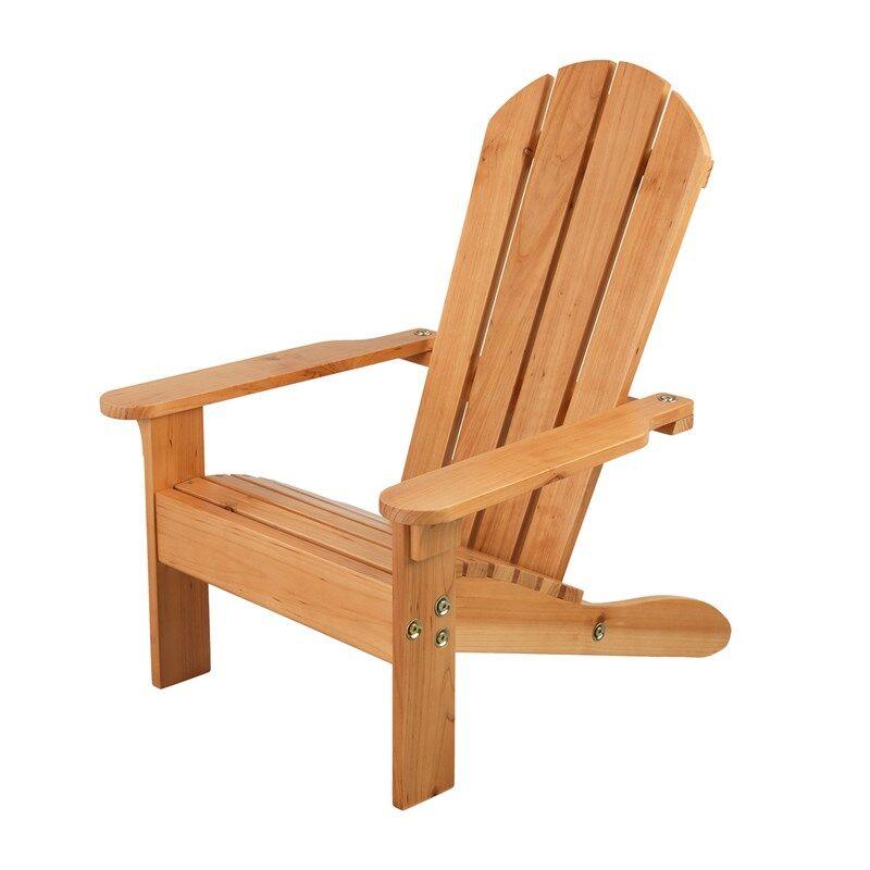 KidKraft Adirondack Chair - Honey One Size