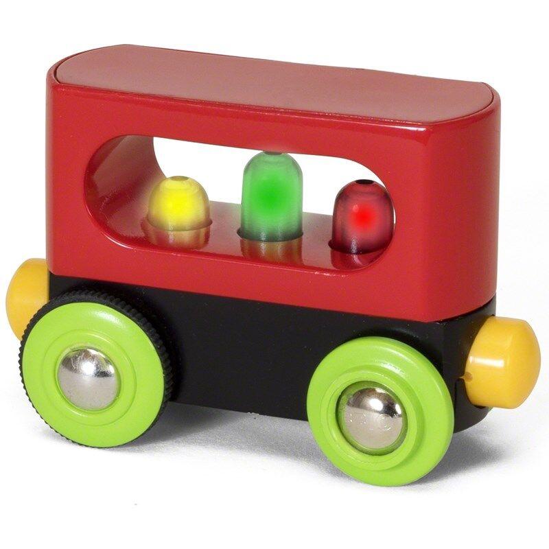 BRIO® My First Railway – 33708 Blinkende vogn 24 months - 7 years