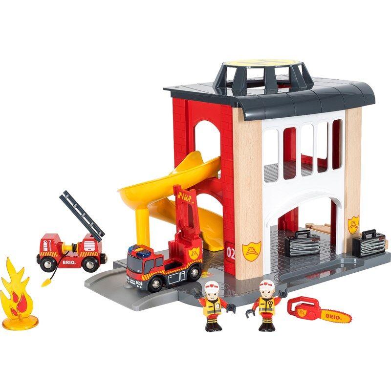 BRIO® World -33833 Brannstasjon 3 - 7 år