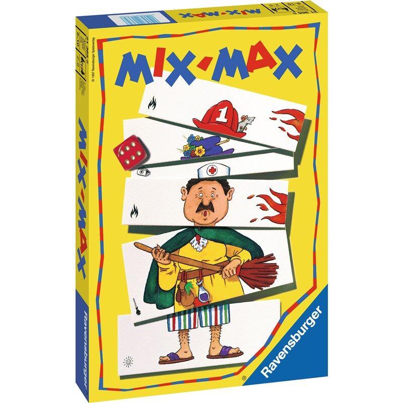 Ravensburger Barnespill, MIX-MAX 5 - 10 år