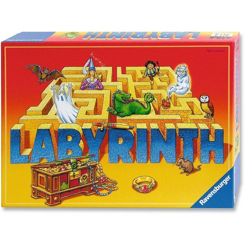 Ravensburger Selskapsspill, Labyrinth 8+ years