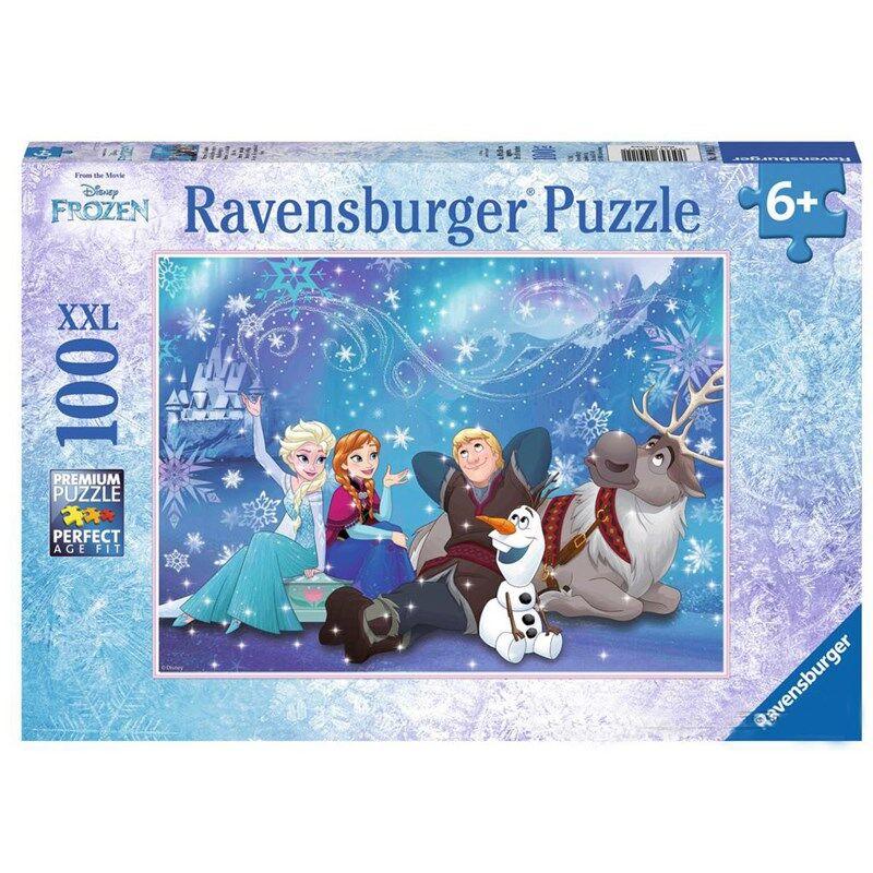 Ravensburger Puslespill, Frozen Ice Magic, 100 biter One Size