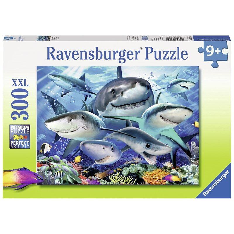 Ravensburger Smiling Sharks 300 biter 9 - 14 years
