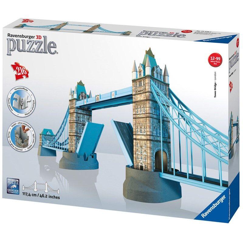 Ravensburger 3D Puslespill Tower Bridge London 216 biter 12 - 18 years