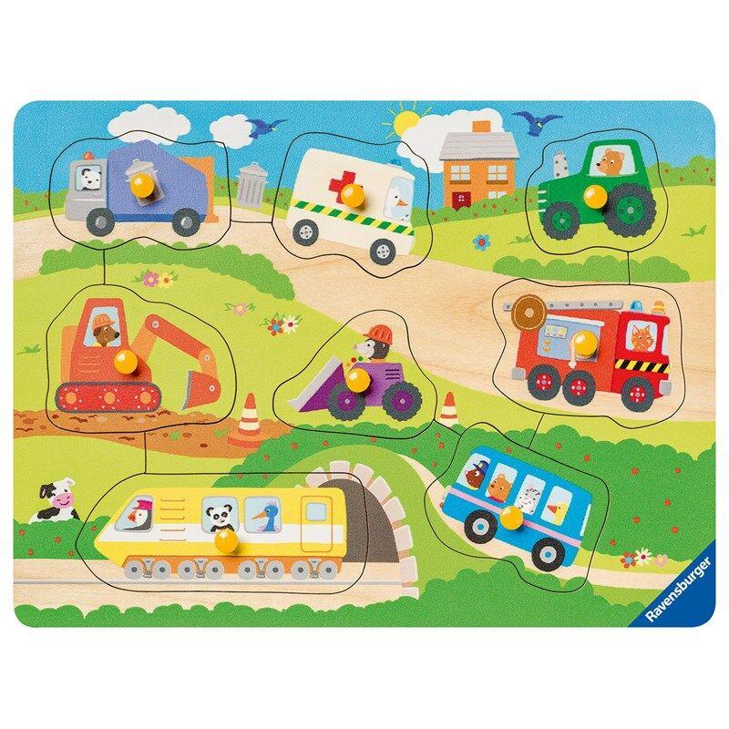 Ravensburger Puzzle, Favourite vehicles - 8 pcs 24 months - 3 years