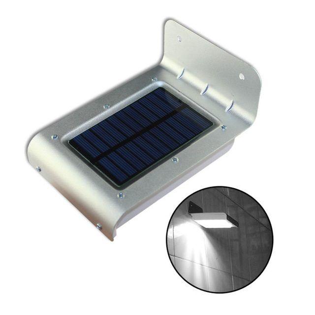 LED-Utelampe med solcelleoppladning