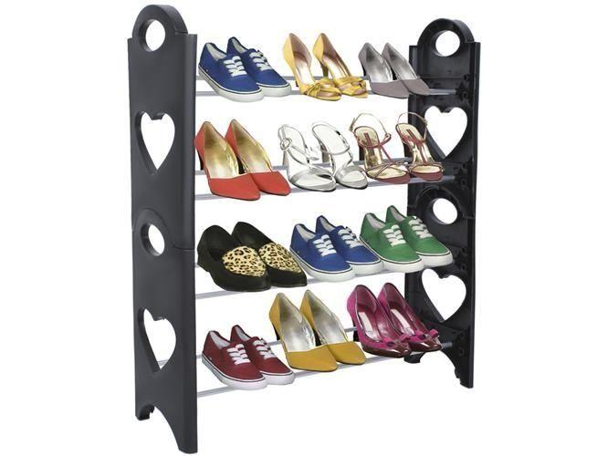 Skohylle med plass til 12 par sko