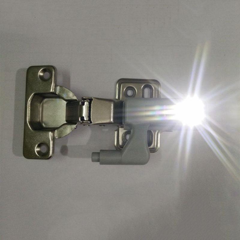 LED skapbelysning til hengsler