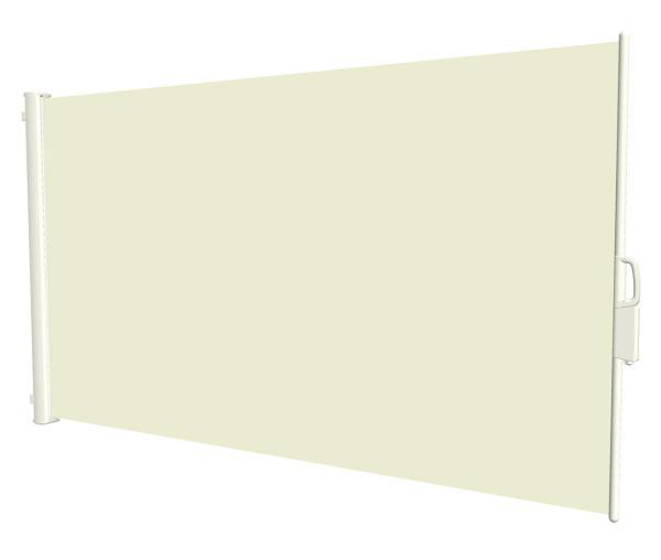 Uttrekkbar levegg 1,6x3 m beige
