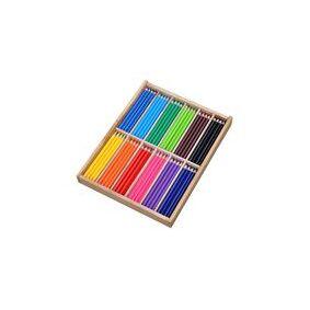 [NORDIC Brands] Fargeblyant Jumbo trekant 12 frg (144)