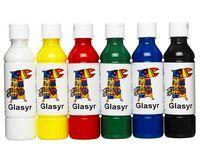 ARDA Glasurfarge for leire 250ml 6 farger