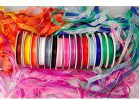 [NORDIC Brands] Organzabånd ass farger (15)