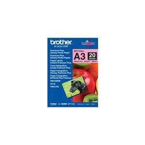 Brother Fotopapir BROTHER BP71 gloss A3 260g(20
